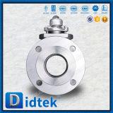 Vávula de bola segura de flotación del duplex 2205 A995 GR 4A del fuego de Didtek API 607