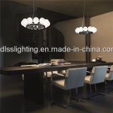 Zeitgenosse, der Innen-LED-hängende Beleuchtung für Leuchter hängt