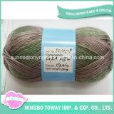 De proveedores China Wholesale fantasía artesanales de lana tejido a mano de acrílico de hilo de tejer