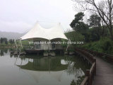 Tela impermeable para ropa Glamping Tente Sandat Glamping Tent