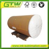 Rollo Jumbo 75 gramos de sublimación de secado rápido de papel para impresión textil
