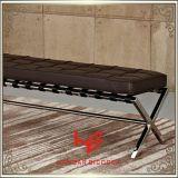 ホテルの腰掛け(RS161805)の腰掛けのバースツールのクッションの屋外の家具店の腰掛けの店の腰掛けの居間の腰掛けのレストランの家具のステンレス鋼の家具