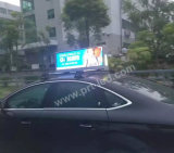 Monitor de montagem de telhado dinâmico de carro cheio de LED P5, P6 Outdoor