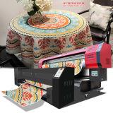 ファブリック印刷のための直接Epson Dx7の印字ヘッド1.8m/3.2mプリント幅1440dpi*1440dpiの解像度のリネン織物プリンター