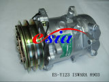 Isuzu D最大10s15c 1A 132mmのための自動空気調節AC圧縮機
