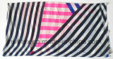 Stola del rayon di modo dei 2018 ss & sciarpa stampate striscia classica (HWBPS084)