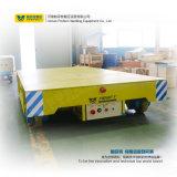 Chariot de manutention de rail de fonderie de 25 tonnes à cargaison motorisée
