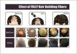 Etiqueta confidencial Creat das cores do OEM 18 suas próprias fibras do cabelo do tipo