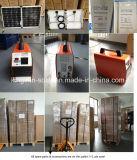 10W 가정 옥외 야영을%s 작은 태양 전지판 조명 시설
