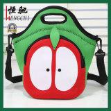 Nuovo sacchetto di banco del dispositivo di raffreddamento del pranzo del neoprene di disegno della stampa su ordinazione
