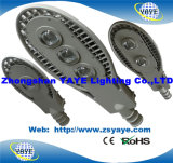 El mejor precio de fábrica de la venta de Yaye 18 3/5 año de la garantía de la MAZORCA 100W LED de la calle Light/LED de luz del camino con las virutas de Osram