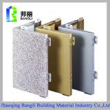 La peinture en aluminium extérieure de panneautage de mur intérieur lambrisse le constructeur élevé de panneau de Quanlity