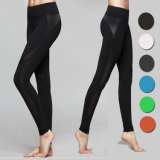 Pantaloni sexy delle donne di forma fisica di yoga di ginnastica di addestramento di elasticità del fornitore della Cina alti