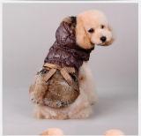 La mode des vêtements d'alimentation pour animaux de compagnie Produits Chien Coat (KH0030)