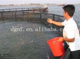 La jaula de la acuicultura
