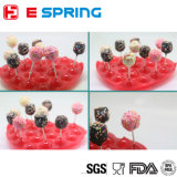 DIY Making 20 Cavity Heart Shape Silicone Lollipop Mold