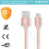 Cable de carga rápido del USB de los datos para el iPhone de Samsung 5 6s