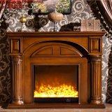 Home Depotのヨーロッパの居間の販売(GSP14-003)のための木製の暖炉のマントルピース