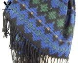 Machine van het Patroon van vrouwen breit de Acryl Geometrische de StammenSjaal van de Jacquard