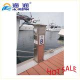Bonne qualité en acier inoxydable Puissance d'eau Pedestal Marina Euipment