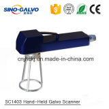 Un buen rendimiento Galvo escáner SC1403 para el marcado láser de mano