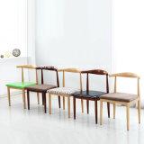 簡単なヨーロッパのレストラン模倣木椅子