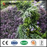 Mur artificiel de jardin vertical vert avec protection UV