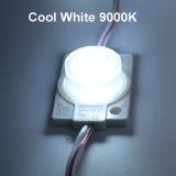 Módulo del alto brillo LED para hacer publicidad de muestras