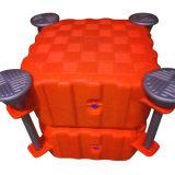 Cubes de flottement de produit de soufflage de corps creux