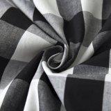 Kleidungs-Fabrik-schwarzes und rotes Plaid-volle Kreis-Fußleisten 2017 hochwertiger Frauen