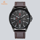 Marca de luxo Japão Quartz Men Watch Leather Watch 72867