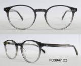 Frame ótico do acetato da forma redonda de boa qualidade para a senhora com (Ce) o Eyewear