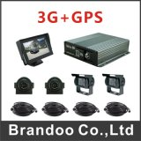 720p 4CH Car DVR Truck Bus Taxi Mdvr Support GPS