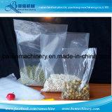 2 линии полиэтиленовый пакет делая машиной горячее уплотнение холодный отрезок