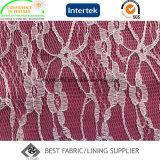 Ткань 100% подкладки шнурка полиэфира
