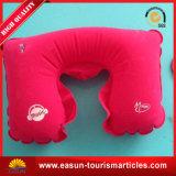 Descanso inflável feito sob encomenda da garganta da promoção, descanso do ar