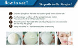 Charcoal Natural Konjac Cleaning Facial Sponzen