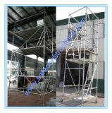 Tour mobile d'échafaudage qualifiée par ce sûr pour la construction