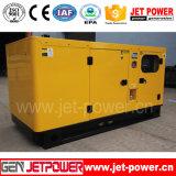 генератор энергии двигателя дизеля 100kw 125kVA звукоизоляционный