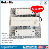 Super brillante 130lm/W 100W 120W 150W de alta Lumen LED Luces de dosel de la estación de Gas