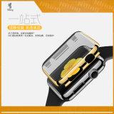 Appleの腕時計のIwatchシリーズ2多彩なカバーシェルのための流行の堅い電気めっきの保護箱は38のmm 42のmmマッチ4カラーバンパーを完成する