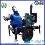 Station de pompage mobile ou fixe de traitement de débit d'eaux d'égout