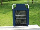 Ocio al aire libre plegable de metal cama de camping silla de salón