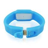 USB Memory&#160 del braccialetto di figura del Wristband del silicone; Bastone per la promozione