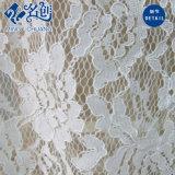 Blusa atractiva de las señoras de la manera de la funda del cordón corto blanco de la perspectiva