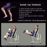 Strumentazione commerciale messa di forma fisica di estensione del piedino per ginnastica