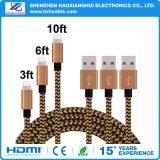 Transferencia de alta calidad para el iPhone cable de carga USB Sinc.