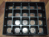 20 cellules Black PS Garden Black Tray