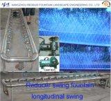 De mechanische Fontein van het Type van Vogel Vliegende die met de Controle van de Muziek wordt geplaatst