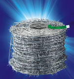 エレクトロによって電流を通されるとげがある鉄ワイヤー